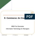 Intro to E Commerce Oct 15