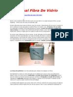 Manual Fibra de Vidrio