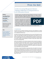 Jorge Miguel Moneo [Elearning Papers] 2012_security in Learning Management Systems