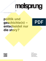 Hammelsprung Ausgabe 6 Politik und Geschichte(n) - entscheidet nur die Story?
