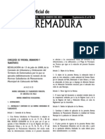 Normas subsidiarias de Cabezuela del Valle