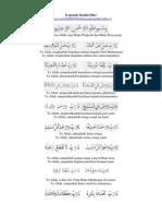 Terjemah Kitab Maulid Diba