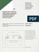VW Golf MKV(5) - LED Tail Light (install manual) (ENGLISH+multi)