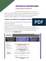 Mode Demploi Du Kit Depannage Informatique