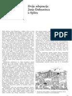 Adaptacije Jurja Dalmatinca u Splitu