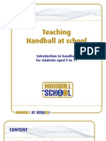 Teaching Handball at school -English