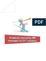 Challenges Facing HR