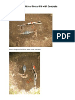 How to Build a Water Meter Pit with Concrete  by Asanga Gunatilake