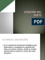 ATENCIÓN DEL PARTO