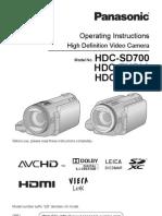 HDC-SD700
