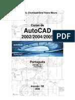Apostila para o Curso de AutoCAD 2002-2004-2005 (em português)