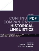 The Continuum Companion to Historical Linguistics