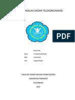 Tugas Makalah Dasar Telekomunikasi (2)