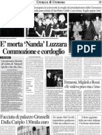 Scomparsa Nanda Luzzara