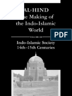 Andre Wink-Al-Hind the Making of the Indo-Islamic World, Vol. 3, Indo-Islamic Society, 14th-15th Centuries (2004)