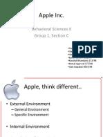 Apple Inc Final