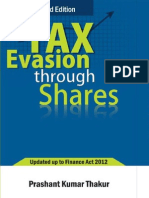 Tax Evasion Through Shares