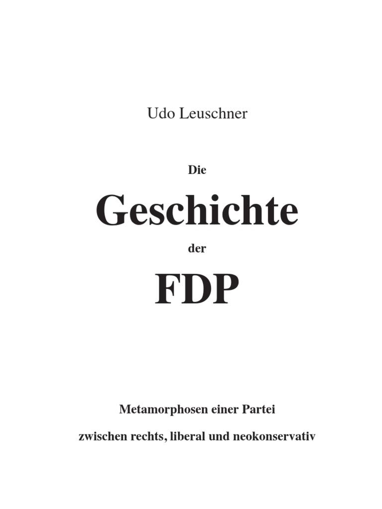 Geschichte Der FDP 2009