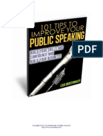 101tip Public Speaking