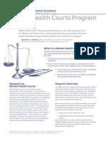 Mental Health Court Program