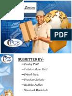 Presentation On Courier Service