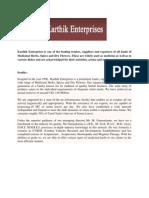Karthik Entreprise