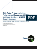 EMA APM 2012 RadarReport Summary