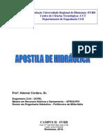 Apostila - Hidraulica - Ademar - 2010