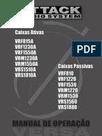 Manual Linha Versa