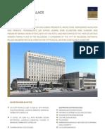 Classical Hotels Metropol Palace Fact Sheet