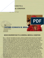 Mood Disorder Due to a General Medical Condition