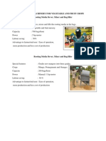 Agricultural Engineering - Machinery With Photos