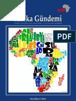 AFRIKA GÜNDEMI - HAZIRAN 2011