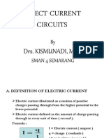 CHAPTER VII Direct Current Circuits