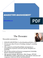 Marketing Presentation1