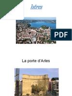 Support visuel de présentation d'Istres