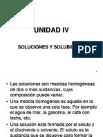 Unidad IV Soluciones