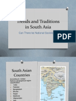 Trends and Traditions in South Asia