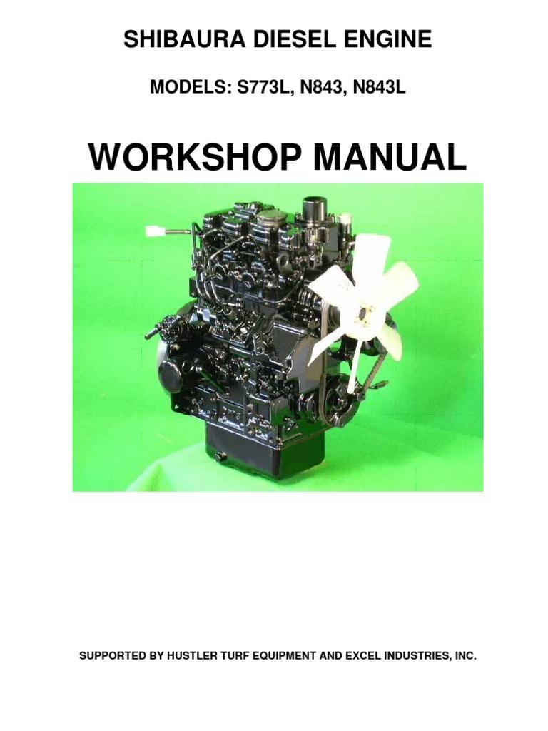 hustler shibaura s773l n843 n843l service manual 109823 0209 rh fr scribd com