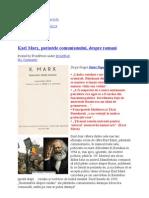 62794928 Karl Marx Parintele Comunismului Despre Romani