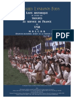 1758 The Barry Lyndon's Foes. French Regiments of the Seven Years War