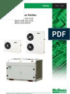 Climaveneta Chiller Installation manual