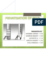 privatization in India