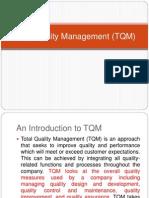Lecture 1,2 TQM 11
