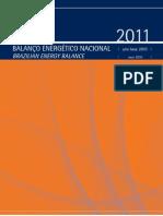 Balanco Energetico Nacional 2011 Relatorio Final MatrizLimpa
