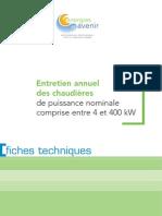 Guide Enrtetien Chaudiere Page a Page