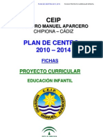 0 Fichas Proyecto Curricular Infantil