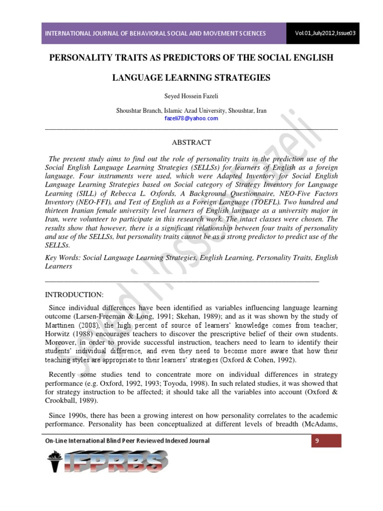 english learning strategy