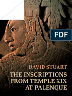 The Inscriptions of Temple XIX at Palenque
