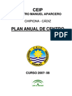 Plan Anual Del Centro 2007-08